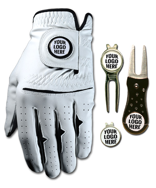 Custom Logo Golf Gloves